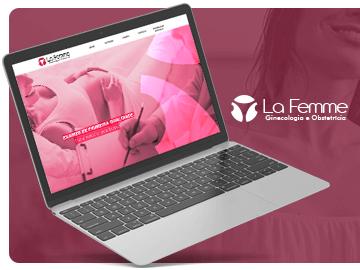 Website La Femme