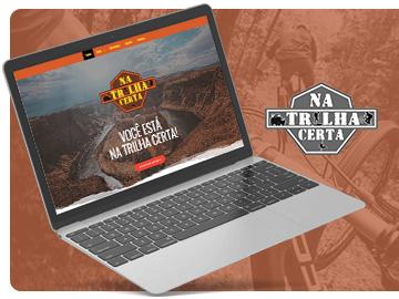 Website Trilha Certa